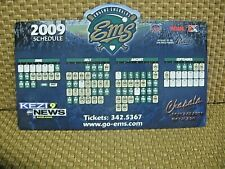2009 Eugene Emeralds Northwest League Baseball Magnetic Schedule San Diego Farm