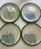"Denby (Langley) ~ Juice Fruits 3 Berry & 1 Apple - 9"" Salad/Luncheon Plates"