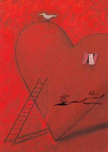 Kunstkarte: Carola Holland - Hänsel und Gretel