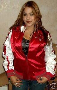 Tampa Bay Buccaneers Ladies Cheer Jacket Adult Sizes Red NFL Women's Bucs
