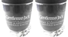 Gentleman Jack Jack Daniels Set of 2 Whisky Rocks Glasses Barware Bar Ware