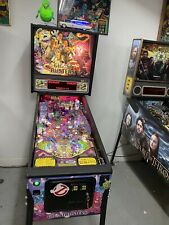 STERN 2016 GHOSTBUSTERS  PRO PINBALL MACHINE  LEDS ONE OWNER HOME USE