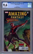 AMAZING FANTASY #15 SPIDER-MAN! CGC 9.6