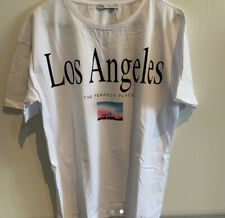 BNWT Zara Graphic Los Angeles T Shirt Size SMALL