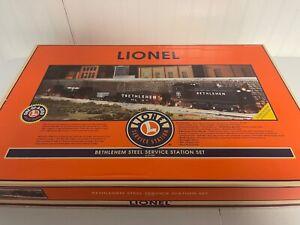Lionel O Gauge 3-Rail 6-21758 Bethlehem Steel Service Station Train Set