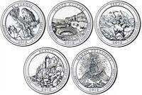 2012 P&D American The Beautiful National Park Quarter Coins Money U.S. Mint Coin