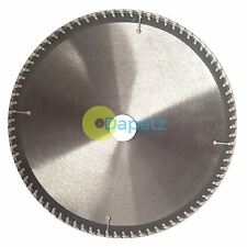 "250mm 10"" 80 Dents Aluminium Lame De Scie Circulaire 30mm Calibre 25mm Joints"