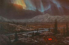 """Stephen Lyman, """"Midnight Fire"""",  S/N LE Lithograph, Mint Condition, # 2028"""