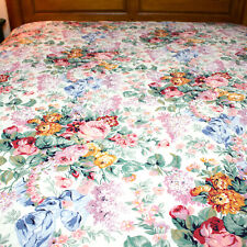Ralph Lauren Allison Floral Pink Blue Green King Comforter with 2 Pillow Cases