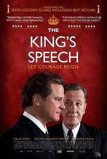 THE KING'S SPEECH Movie POSTER 11x17