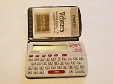 Franklin Webster's Spelling Corrector Plus Pocket Model Ncs-101 Spell Check