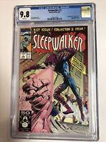 Sleepwalker (1991) # 1 (CGC 9.8 WP) | 1st full App Sleepwalker