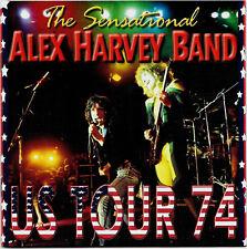 Sensational Alex Harvey Band - US Tour '74  (2CD)  Double Live Album