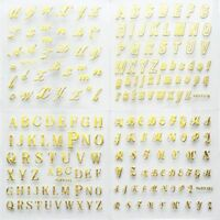 Alphabets Design Nail Decal Nail Decor Nail Art English Letters Nail Sticker