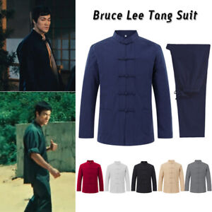 2PCS Kung Fu Wingchun Uniform Martial Arts Suit Taichi Clothes Outfit Tang Suit