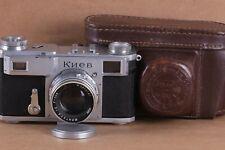 Soviet Contax copy KIEV II Arsenal 35mm RF camera Jupiter-8 2/50mm lens Vintage