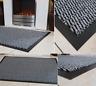 Rubber Barrier Mat Hall Kitchen Runner Door Mat Washable Trap Dirt Dust Mug Grey