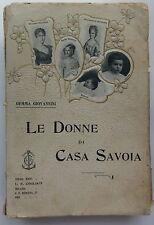 Le donne di casa Savoia 1903 Gemma Giovannini Cogliati