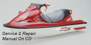2000-01 Kawasaki 1100 STX D.I. Jet Ski Service Repair Maintenance Manual On CD