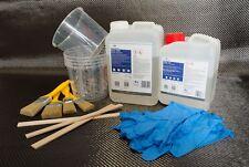 Carbon Komplett Set 5,0qm Carbongewebe Köper 2500g Epoxidharz 1250g Härter