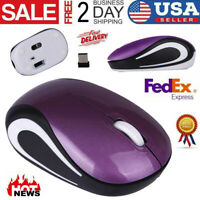 Computer Mice Cute Mini 2.4 GHz Wireless Optical Mouse For PC Laptop Notebook