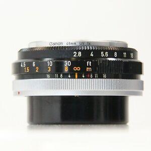 Canon FLP 38mm W/ ADAPTER Canon FLP Canon FD 38mm f/2.8 FOR PELLIX ONLY (C1393)