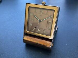 Vintage Art Deco Jaeger Alarm Clock