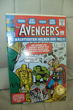 8.5 VF+ VERY FINE+ AVENGERS # 1 EURO VARIANT GOLD SEAL STAMP VERY RARE RRP