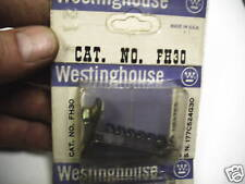 Westinghouse Thermal Overload Heater FH30 NEW