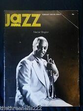 JAZZ JOURNAL - FEB 1975 - MERCER ELLINGTON