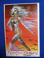 ~LINSNER ~ TEARS OF DAWN VOL. II  LIMITED EDITION #857/1000~1997 ~SIGNED!