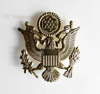 "US ARMY OFFICER SERVICE EMBLEM PIN BADGE 2.5"""