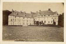 France, env. Fécamp, Château de Valmont, ca.1880, vintage albumen print Vintage