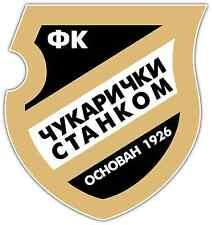 "FK Čukarički Cukaricki FC Serbia Football Soccer Car Bumper Sticker Decal 4""X5"""