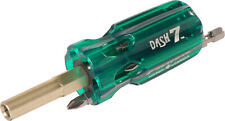 PICQUIC DASH 7 Screwdriver - Multi Bit with 7 Hex Powerbits - Emerald Green