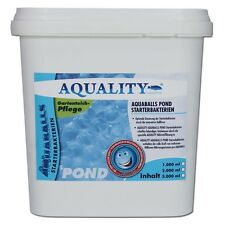 (19,99�'�/ltr)AQUALITY AQUABALLS POND Starterbakterien Gartenteich Filterbakterien