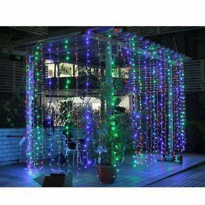 200LED 2M X 2M Led Lichtervorhang LED Lichterkette Außen Garten Deko IP65 DHL