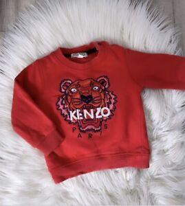 Kenzo Baby Boys Jumper Top Size 9m 6-9 Months Designer