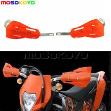 "Motorcycle Orange Drop Hand Guards XC Handguards Fit KTM YAMAHA HONDA 1-1/8"" Bar"