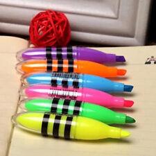 Cute Bee Highlighter Pen Mini Marker Pens Kawaii Stationery School Supplies TOCA