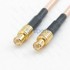 MCX male plug to MCX male straight connector RF RG316 Coaxial Pigtial Coax cable
