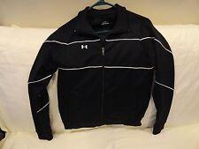 Under Armour Women's CVC-Cleve.Volleyball Zip Front Jacket-ls,black+.  XS  EUC++