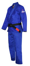 Fuji Sports Mens Lightweight Jiu Jitsu Gi -Royal Blue