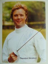 Thorsten Weidner (GER) - Floret, Olympia vincitore
