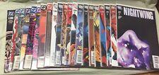 DC Comics Nightwing Lot Of 21 #8, 19, 65, 67, 68, #107-121 Run Grayson Bit Jones