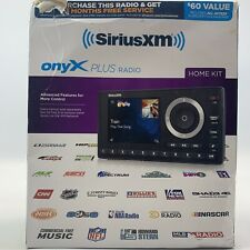 New ListingSiriusXm Sxpl1H1 Onyx Plus Satellite Radio with Home Kit Open Box