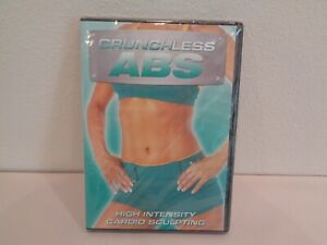 CRUCHLESS ABS HIGH INTENSITY CARDIO SCULPTING New DVD