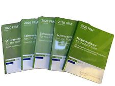 Kaplan Schweser FRM Level II 2020 Exam Prep - New