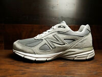 New Balance M990GL4 Grey Suede Mens Running 990v4 Made in USA (Widths D 2E 4E)