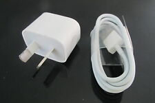 1A Australia USB Wall Charger Adapter Plug + USB Cable for Iphone6S 6 5C 5S IPOD